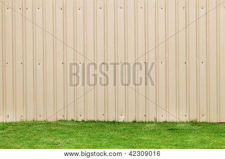 Metal Sheet Wall