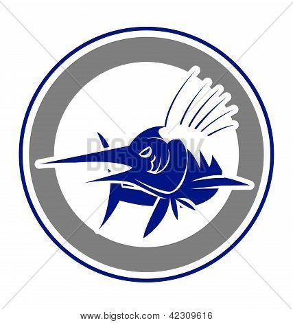 Big marlin fish