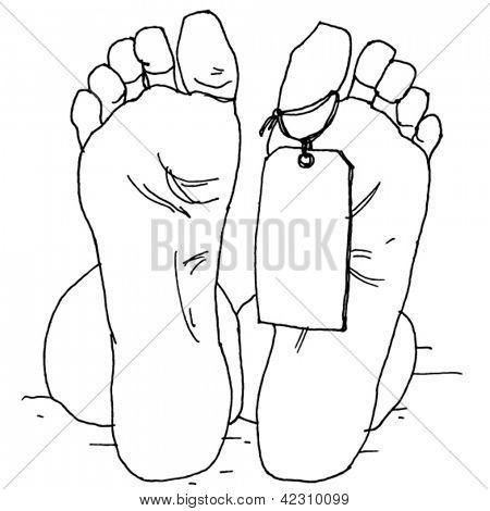 Dead Man Feet