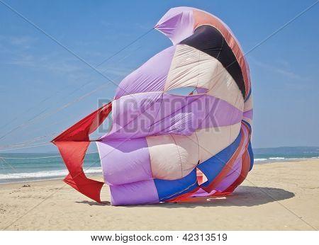Parasail On Goa Beach India