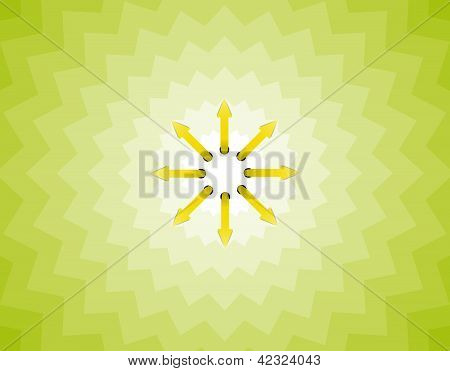 arrow sun