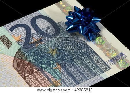 banknote of 20 euro