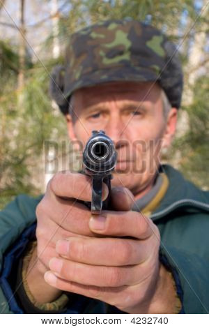 Man With Pistol