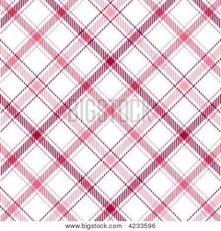 Pink Stripes Plaid