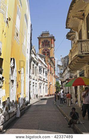 Cartagena De Indias Street