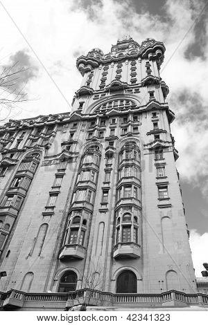 The Palacio Salvo, Montevideo, Uruguay