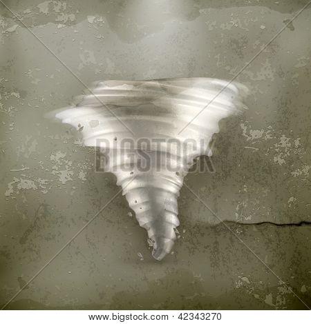 Tornado, old-style vector
