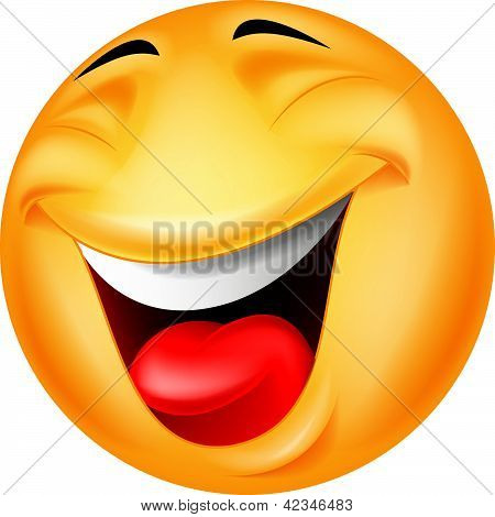 Smiley emoticon cartoon
