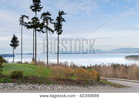 Puget Sound From Camino Island