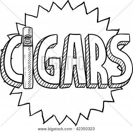 Cigars sketch
