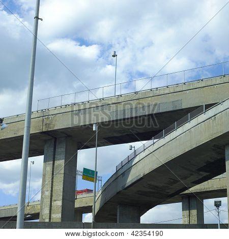 Concrete Highway Viaducts