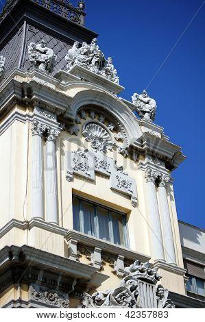 Edifici De La Duana In The Port Of Barcelona, Spain