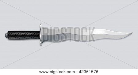 kris dagger vector art