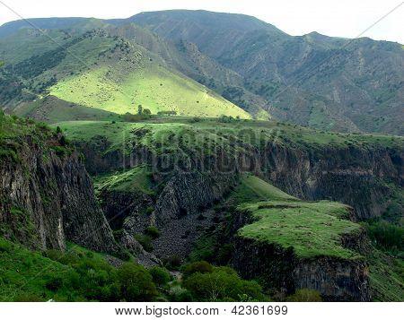 Huge hill