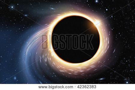 Black Hole - Digital Painting