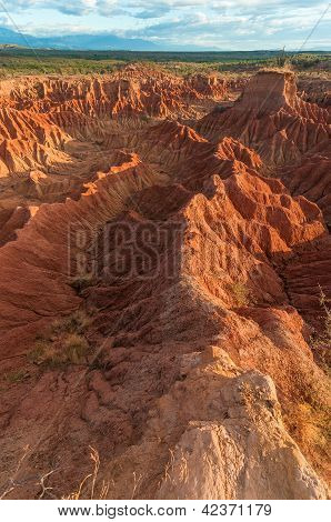 Stunning Red Rock Formations
