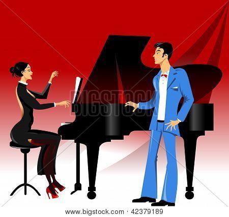Concierto de ópera