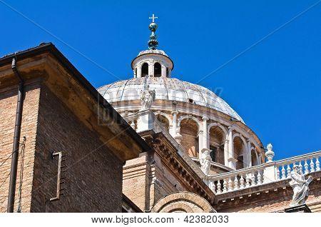 St. Maria della Steccata Shrine. Parma. Emilia-Romagna. Italy