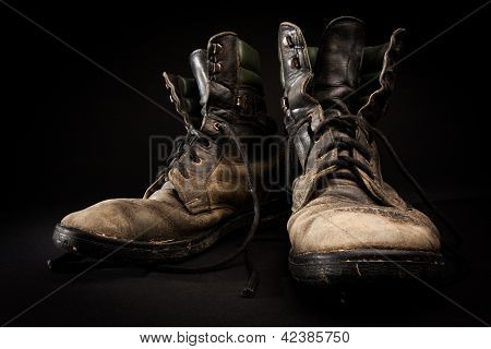 Old Army Boots