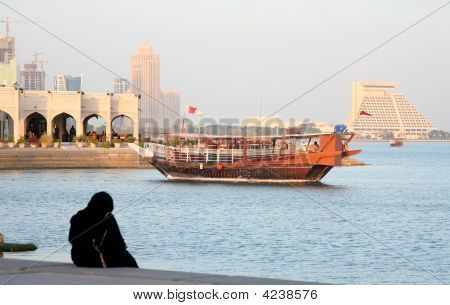 Afternoon On Doha Corniche