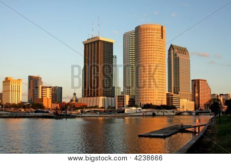 Architecture In The City Of Tampa Florida
