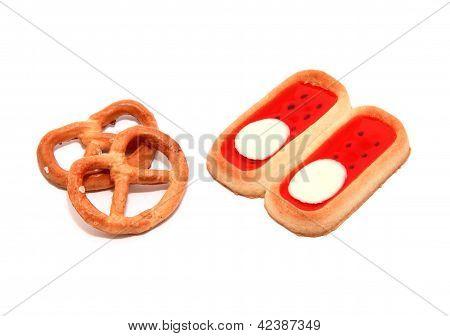 Pretzels With Biscuits