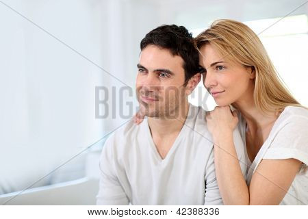 35-year-old couple looking toward their future