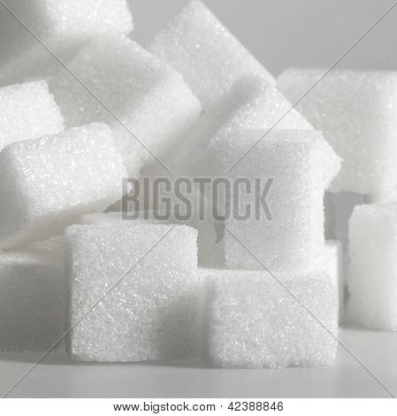 Lump Sugar Closeup