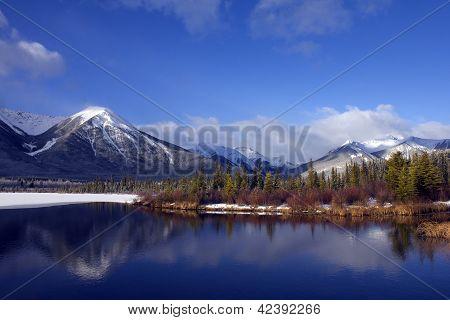 Spring in Banff