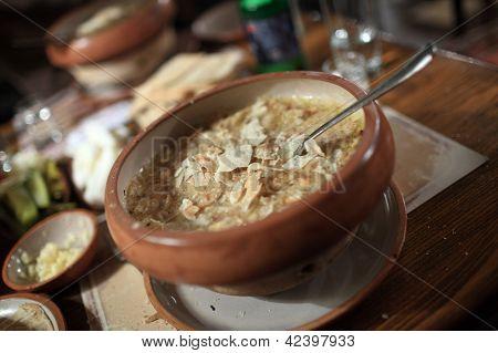 Khash In Armenian Restaurant