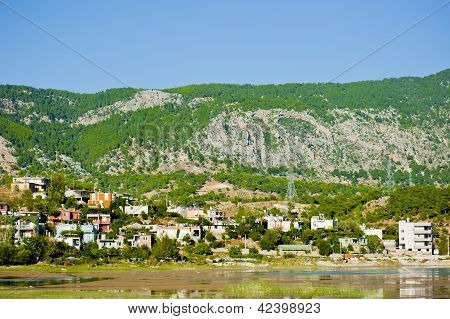 Mountain village. Turkey. Manavgat River area.