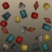 picture of marquise  - Gems set  - JPG