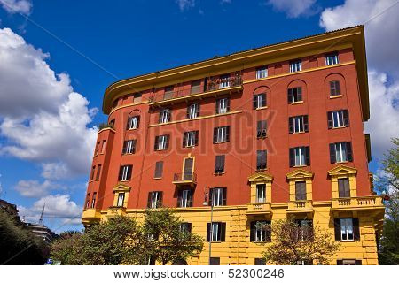 Building in Rome Italy