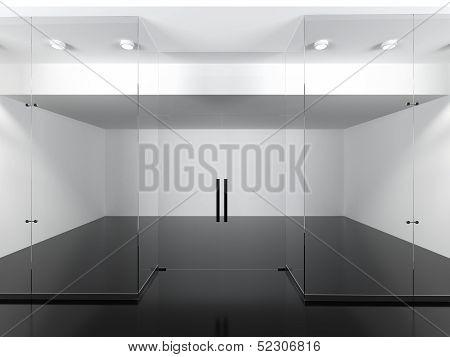 Empty shop