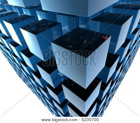 Cubes In Network
