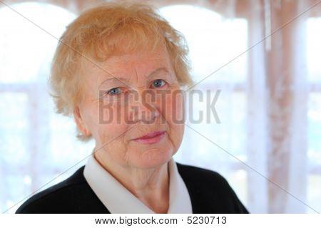 Porträt des älteren Dame