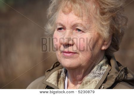 Aged Woman