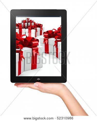 Christmas, X-mas, Online Shopping Concept