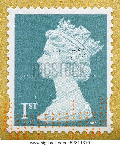 Britain Queen Elizabeth 2Nd Postage Stamp