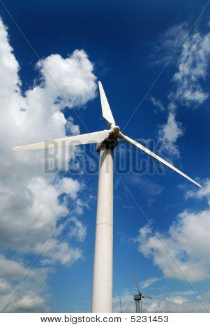 Wind Turbine Or Windmill
