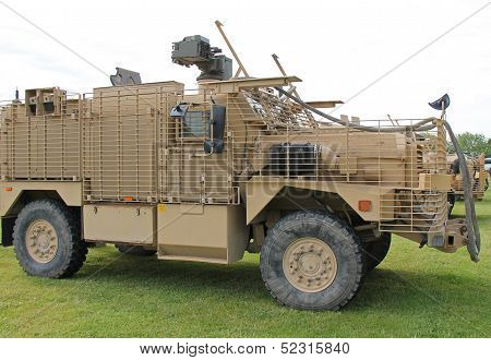 Armoured Heavy Vehicle.