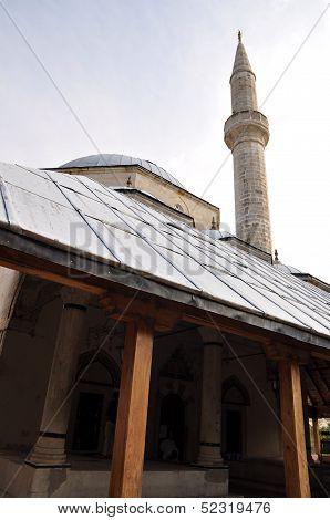 Minaret In Mostar, Bosnia Hercegovina
