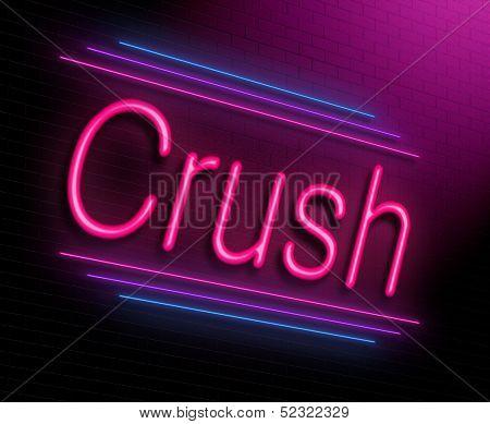 Crush Concept.