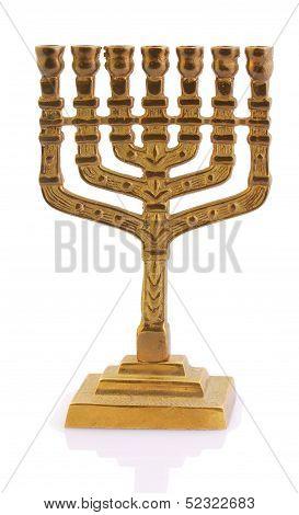 Gold Oil Lamp