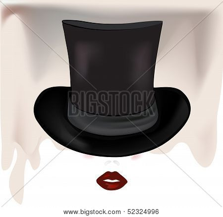 Woman With Tophat