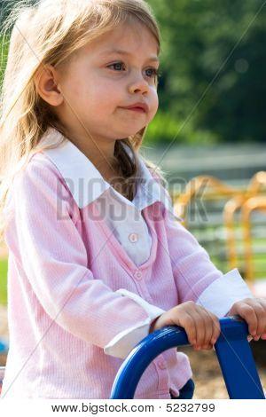Child On Teeter Totter