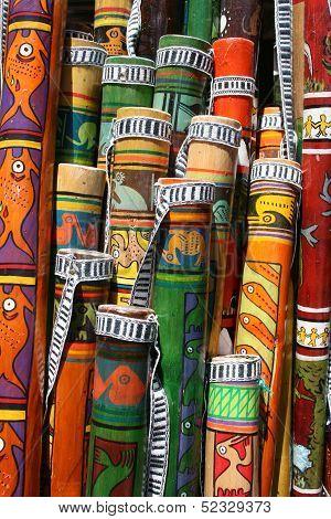 Colorful Rain Sticks