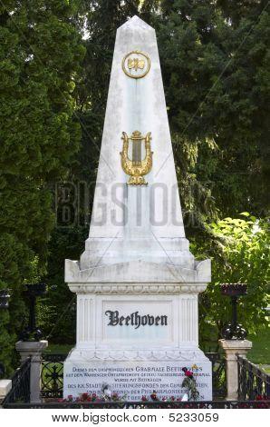 The Tomb Of Ludwig Van Beethoven