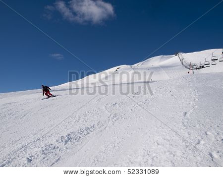 Wintersports On The Alps