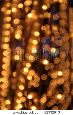 Gold Festive Lights